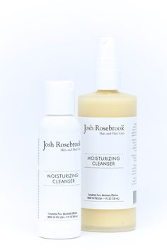 Moisturizing Cleanser from Josh Rosebrook. With aloe gel, african black soap, honey.