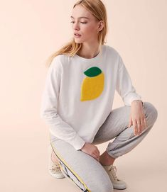 Shop Lou & Grey women's clothing for a comfortably confident life. You'll love our easy Sundry Lemon Asymmetrical Hem Pullover - shop louandgrey.com today!