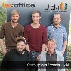 Unser Start-up des Monats ist Jicki, eine eLearning-Plattform für web-basiertes Sprachenlernen. Wieso man mit Jicki schnell und einfach neue Sprachen lernt und wie diese Geschäftsidee entstanden ist, erfahrt Ihr im lexoffice Blog: https://www.lexoffice.de/blog/jicki/ Unter http://gruender.lexoffice.de/ könnt Ihr Euch als Start-up des Monats oder für das lexoffice Förderprogramm für Gründer bewerben :-)