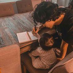 Cute Asian Babies, Korean Babies, Asian Kids, Cute Babies, Father And Baby, Dad Baby, Ulzzang Kids, Ulzzang Couple, Cute Family
