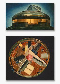 Dymaxion House – R. Buckminster Fuller. Aqua-Velvet #BuckyFuller