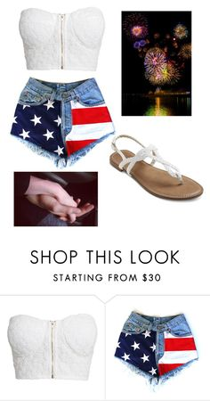 """Meet Me Under The Fireworks"" by forever-young114 ❤ liked on Polyvore featuring NLY Trend, women's clothing, women, female, woman, misses and juniors"