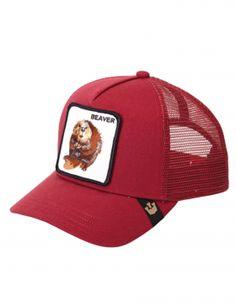 23b15711da0 Goorin Bros. Beaver Trucker cap - Big Red Hats For Sale