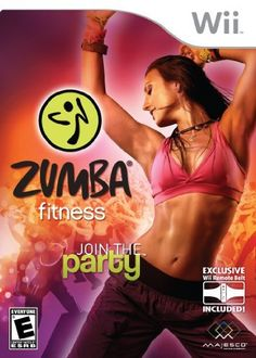 Zumba Fitness for Wii- I actually like Zumba Rush not the Party version. You feel so good after doing it!