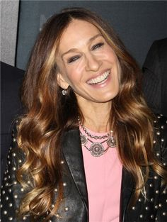"Sarah Jessica Parker on the red carpet of ""City Ballet' series premiere"
