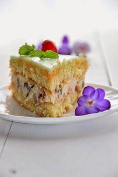 BŁYSKAWICZNA SAŁATKA Z KURCZAKIEM I WARZYWAMI KONSERWOWYMI - Limonkowy - blog kulinarny Pavlova, Ricotta, Feta, French Toast, Pie, Breakfast, Blog, Torte, Morning Coffee