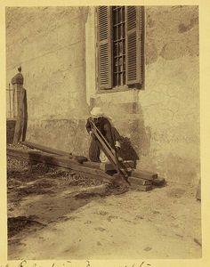 A palestinian carpenter in Nazareth, Palestine 1904