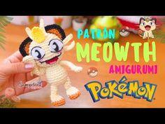 meowth pokemon amigurumi español/ingles - YouTube