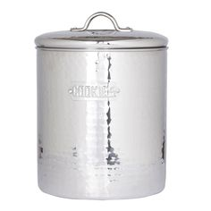 Old Dutch Hammered Stainless Steel Cookie Jar | Overstock.com Shopping - The Best Deals on Cookie Jars