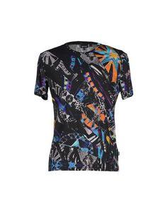 JUST CAVALLI T-shirt. #justcavalli #cloth #top #pant #coat #jacket #short #beachwear