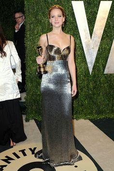 After-Oscars WERQ: Jennifer Lawrence in Calvin Klein | Tom & Lorenzo