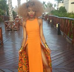 latest african fashion look 7765 African Dresses For Women, African Print Dresses, African Attire, African Wear, African Women, African Prints, African Style, African Inspired Fashion, African Print Fashion