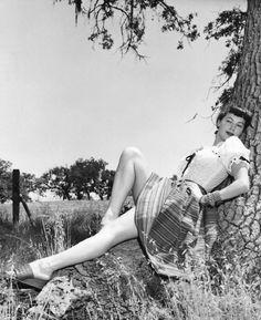 Ava Gardner by Eric Carpenter, 1940′s