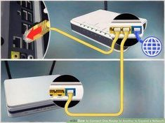 How to Connect One Router to Another to Expand a Network. This wikiHow teaches you how to add a secondary router to your home or small business network. If you want to add more computers or other devices to your home or small business. Computer Router, Internet Router, Wireless Router, Wifi Router, Computer Repair, Web Internet, Computer Projects, Computer Basics, Computer Tips