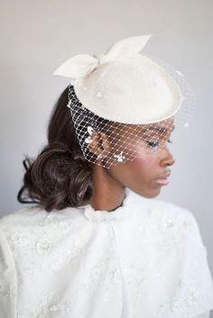 24 Incredible Wedding Hats That Make You Unique ❤ See more: http://www.weddingforward.com/wedding-hats/ #weddings #hats