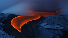painshill caves   Check Details: Lava from Kilauea volcano in Hawaii (© Toshi Sasaki ...