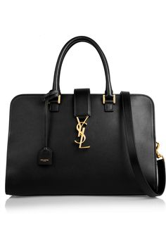 Saint Laurentoh my gosh I love this bag the YSL monogram the cross body strap the black leather what more can a girl want?