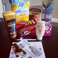 #modavoxbox excited to try all these goodies!