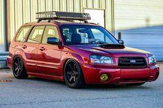 That's close to the red that I want. Subaru Wrx, Subaru Forester Mods, Subaru Liberty Wagon, Subaru Wagon, Subaru Outback, Japanese Sports Cars, Honda Crv, Fancy Cars, Mustang Cars