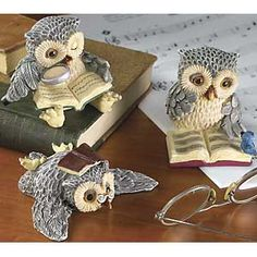 owls - so cute!