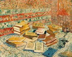 Vincent Van Gogh - The Parisian Novels Art Print. Explore our collection of Vincent Van Gogh fine art prints, giclees, posters and hand crafted canvas products Rembrandt, Vincent Van Gogh, Art Van, Desenhos Van Gogh, Van Gogh Still Life, Van Gogh Arte, Van Gogh Pinturas, Painting Prints, Art Prints