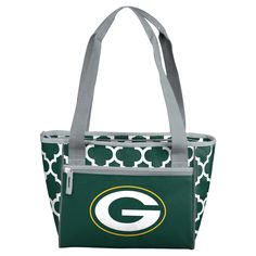 NFL Green Bay Packers Quartefoil 16-Can Soft-Sided Cooler Tote