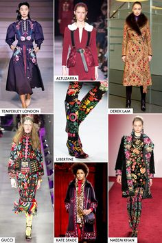 Fall 2017 Fashion Trends - Guide to Fall 2017 Styles and Runway Trends
