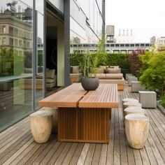 Wood Decks With Furniture | Wood Patio Furniture Plans
