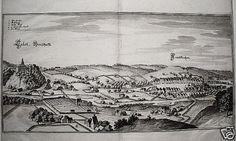 Grieskirchen Schloß Tollet  Merian Kupferstich 1649