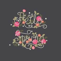 How to Create a Decorative Spring Floral Lettering Card in Adobe Illustrator Design Psdtuts