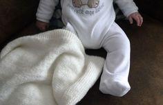 Tricoter une couverture pour bébé (Baby blanket) - DIY
