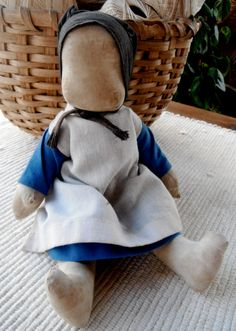 vintage amish chuch doll by centralavenue on Etsy, $98.00