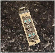 TAKODA No. 8 - Schlüsselanhänger von °Solo-Con-Perro° http://de.dawanda.com/shop/Solo-Con-Perro