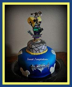 kingdom hearts birthday cake | Tumblr