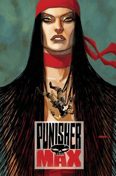 Art from Dave Johnson's cover run on Punisher Max