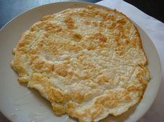 Coconut Flour Flat Bread in Bread, Breakfast. Coconut-Flour-Flat-Bread INGREDIENTS (this makes one) 1 tblspn coconut flour tspn ba. Coconut Flour Bread, Coconut Flour Recipes, Gluten Free Recipes, Low Carb Recipes, Cooking Recipes, Coconut Milk, Bread Recipes, Primal Recipes, Rice Flour