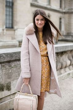 this coat! and love the color combo... so winter but fresh.