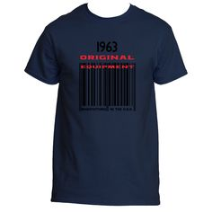 1963 Barcode Ultra Cotton® T shirt designs | Underground Statements