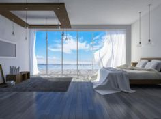 Get the beach look in your home Auto Business, Boat Insurance, New Home Builders, Beach Look, Home Buying, Beach House, Condo, New Homes, Cottage