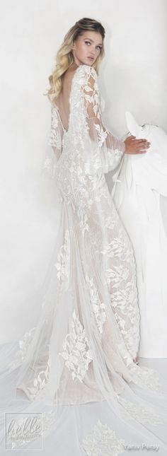 Yaniv Persy Wedding Dresses Spring 2019 - Lavish Bridal Collection
