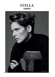 Photographer: Paul Wetherell Stylist: Tim Lim Hair: Kei Terada Makeup: Hiromi Ueda Nails: Adam Slee Model: Stella Tennant