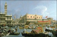 Canaletto: 18th Century Venice - with an Ascension Day ceremony