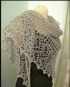 Easy As Pie Shawl (free pattern) as seen on Ravelry