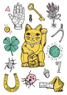 Lucky Symbols Around The World