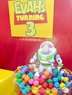 .Oh Sugar Events: Toy Story Birthday  Gumballs