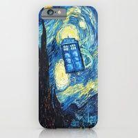 STARRY NIGHT TARDIS iPhone 6 Slim Case