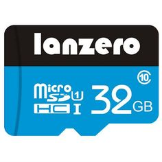 Lanzero 32G Class 10 High-speed Micro SDHC SD TF Card Memory Card
