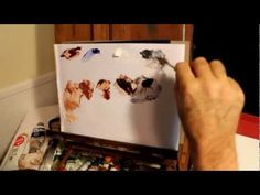 Oil Portrait or Figurative - How to mix for Duo tone Study - YouTube