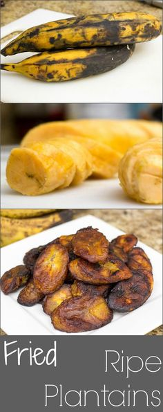An easy and quick recipe for making fried ripe plantains to be eaten as a side or as a snack. #HomeMadeZagat
