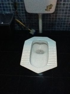Toilets in China